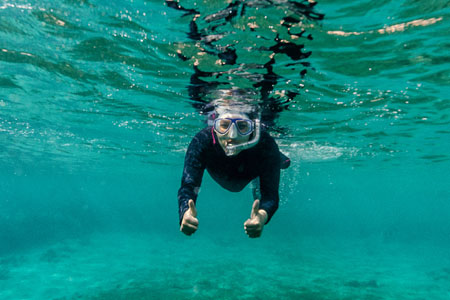 Snorkelling in Dahab