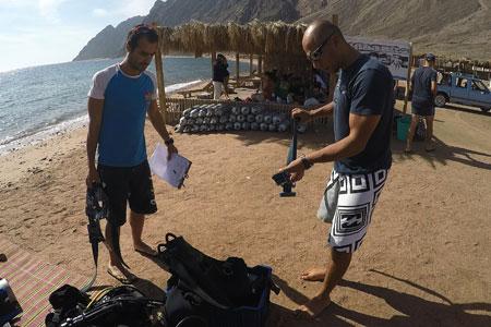 Briefing pre dive