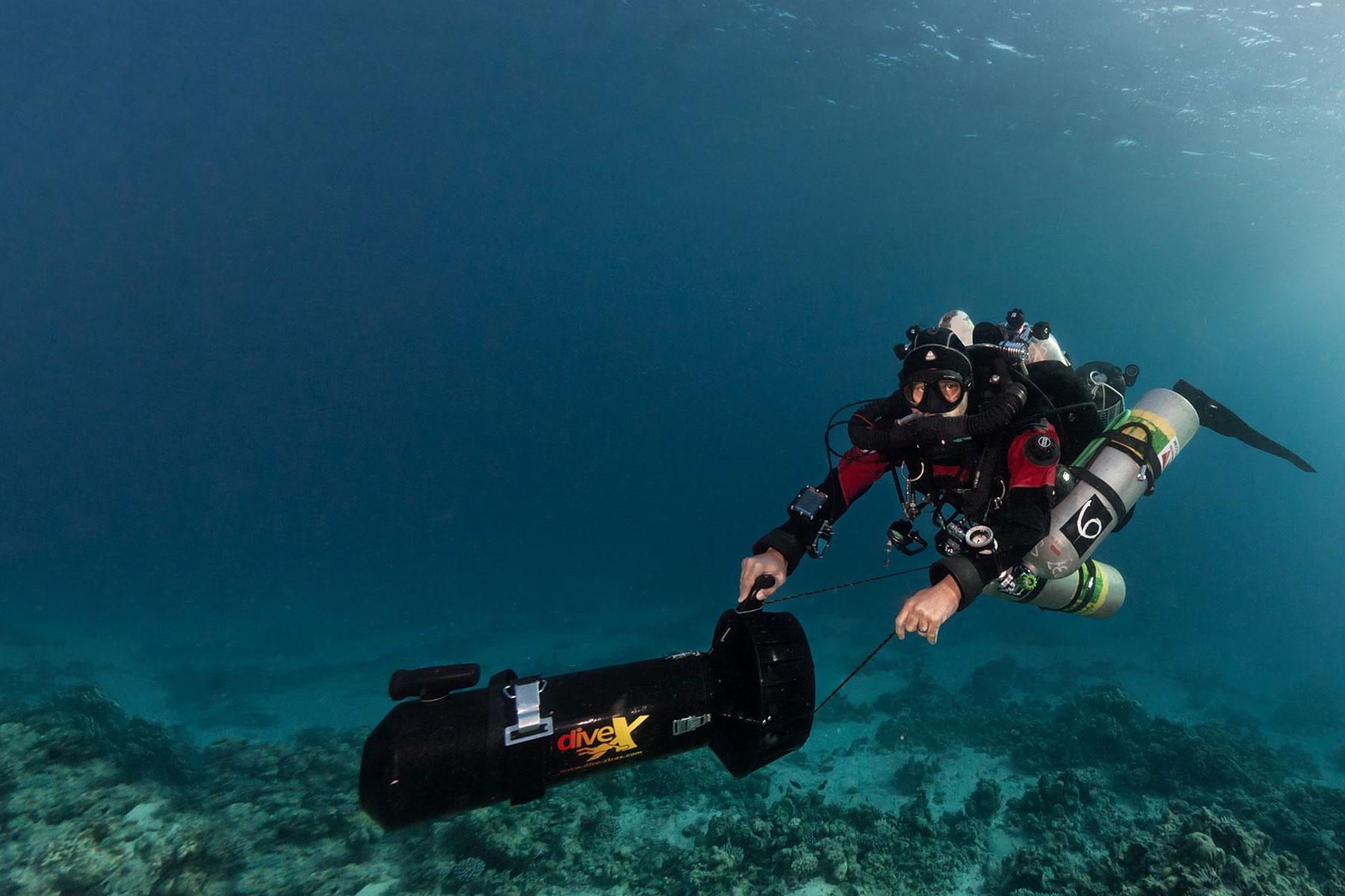 Closed Circuit Rebreather Diving