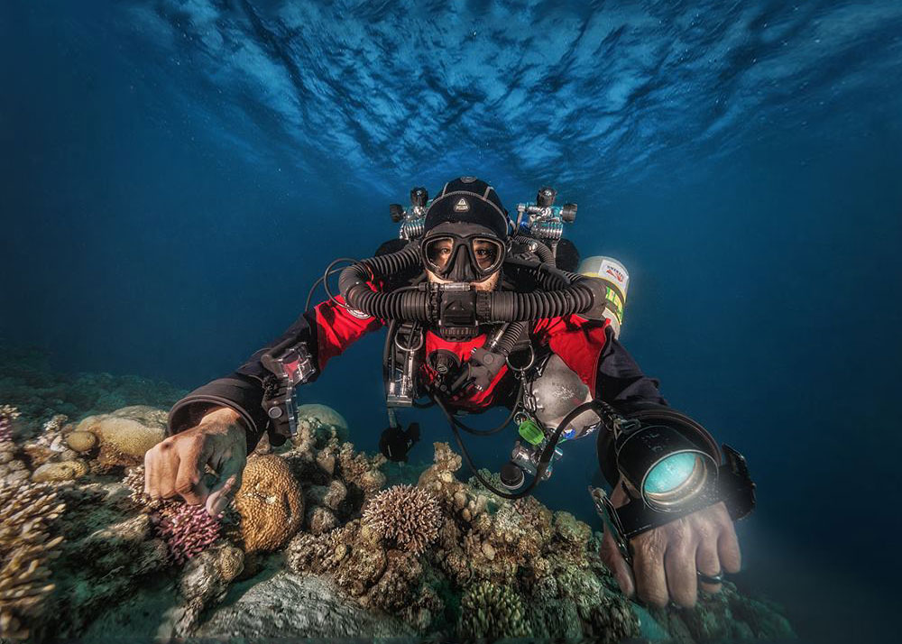 Become a CCR Rebreather diver in Dahab