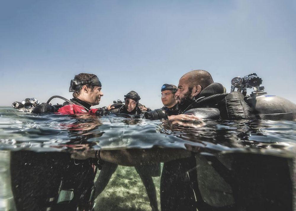 Become a TDI tec diver instructor