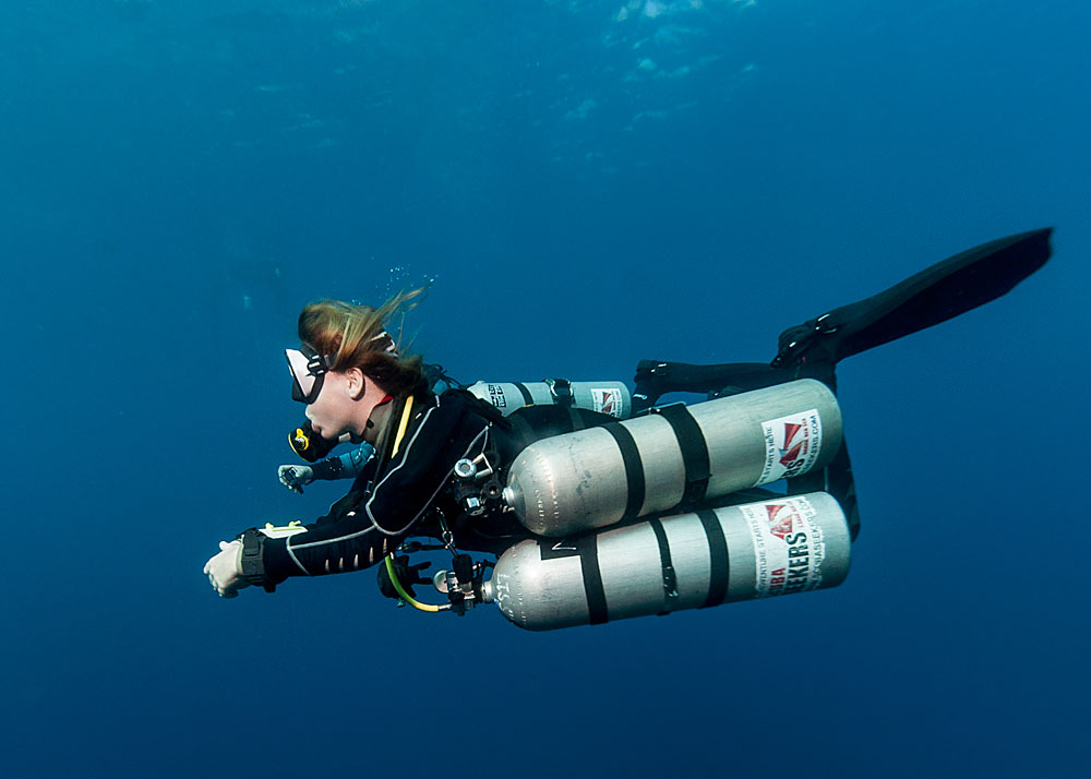 Specialise in technical diving in Dahab