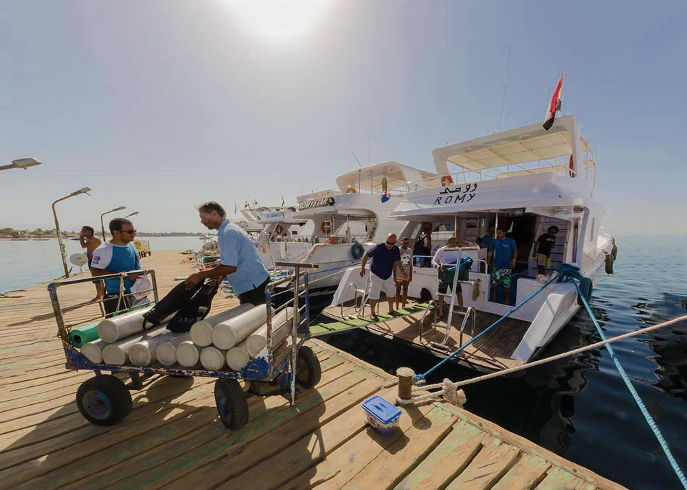 one day boat trip beyond Dahab