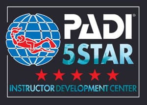 PADI 5 star Instructor Development Center