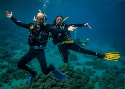 Recreational Diving in Dahab with Scuba Seekers