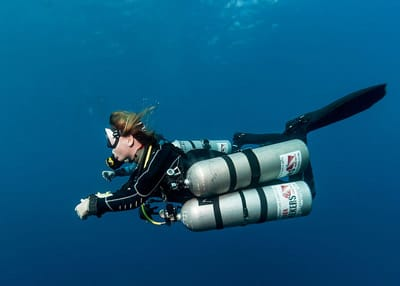 Technical Diving in Dahab with Scuba Seekers